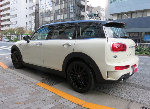 MINI Cooper S Clubman Pepper PKG full