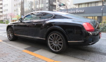 BENTLEY Continental GT Speed full