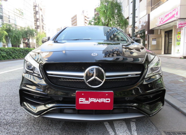 Mercedes AMG CLA45 4matic Shooting Brake full