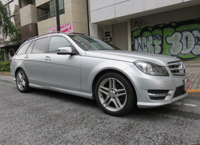 Mercedes Benz C180 Blue Efficiency AMG Sport PKG full
