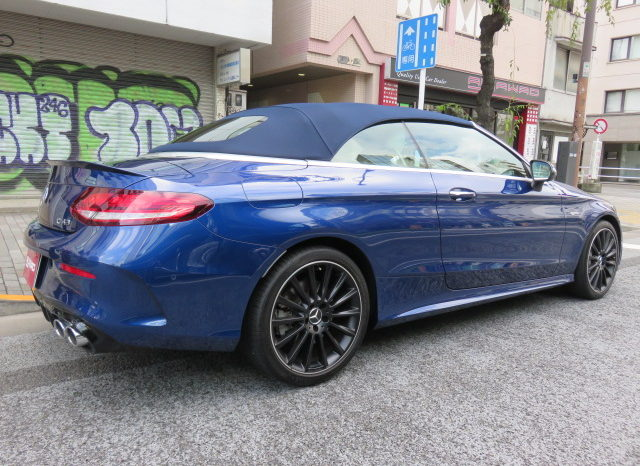 Mercedes AMG C43 4matic Cabriolet full