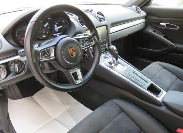 Porsche 718 Cayman Sport Chrono PKG full