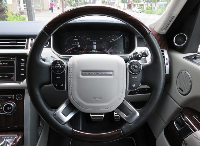 Land Rover Range Rover Autobiography full